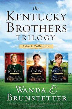 THE KENTUCKY BROTHERS TRILOGY by Wanda E. Brunstetter https://www.amazon.com/dp/1620297701/ref=cm_sw_r_pi_dp_U_x_5oD0AbS9KJ7KV