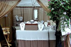 I love the curtains inside the booth makes it look like a little shop as opposed to a booth. Mattoon St. 2009