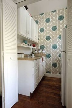Theresa's Sweet and Modern San Francisco Kitchen Small Cool Kitchens 2010 - Rent Division