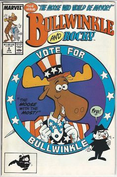 from $18.95 - Bullwinkle And Rocky 8 Jan 1989 #Marvel