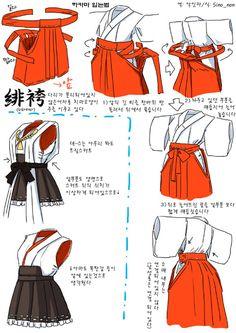 team東方: 하카마 입는법