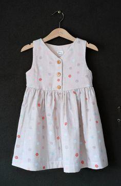 Handmade Polka Dot Dress | HelloTalaria on Etsy