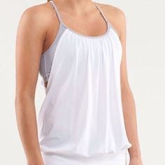 Lululemon No Limit Tank  Lululemon No Limit Tank  fit is shown in first  image | no trades lululemon athletica Tops Tank Tops