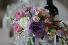 Rose, cream and a touch of lilac