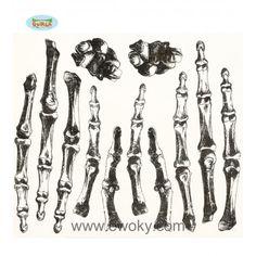 tatuajes de huesos de las manos para adulto 2,18€