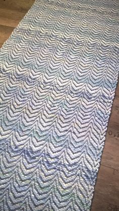 KAMMARIN UNELMA, sininen  80 x 250 Scandinavian Style, Pattern Design, Textiles, Rag Rugs, Home Decor, Decoration Home, Room Decor, Fabrics, Home Interior Design