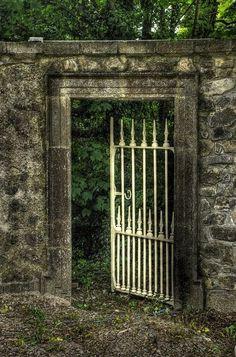 Garden gates 277464027027384289 - Inviting garden gate, Clare, Ireland Source by kryziakreations Garden Gates And Fencing, Garden Doors, Old Gates, Iron Gates, Door Gate, Fence Gate, Fences, Portal, The Secret Garden