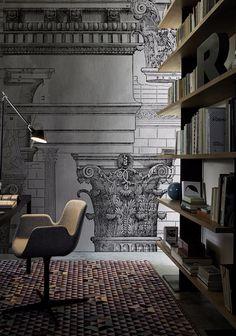Carta da parati a motivi ANTIQUA Collezione Contemporary Wallpaper 2016 by Wall