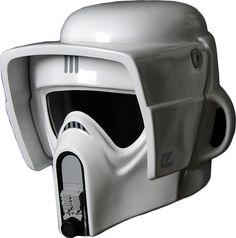Star Wars - Biker Scout Trooper Replica Helmet by eFX Collectibles