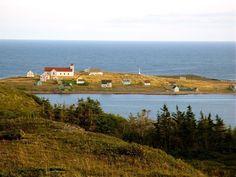 St-Pierre et Miquelon ✈ Coucher de soleil sur l'ïle aux marins