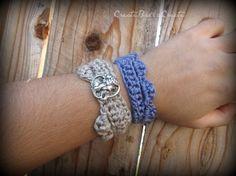 bracelets - crochet free pattern