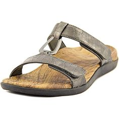 Orthaheel Women's Gunmetal Patent Crocodile Layla II 8 B(M) US >>> Find out more about the great product at the image link.