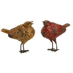 Tuscany Bird Sculpture Set