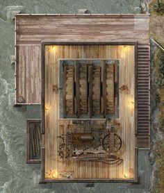 Seven's Sawmill - Undermill by hero339 on DeviantArt