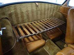vw beetle wood floor -