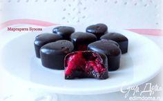 Шоколадные конфеты с малиной | Кулинарные рецепты от «Едим дома!»