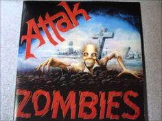 Attak - Zombies full LP (with bonus tracks)