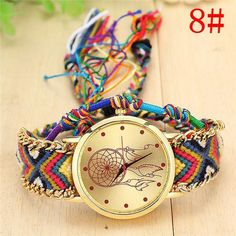 """Get This Braided Dreamcatcher Friendship Bracelet Watch For FREE- Just Pay For Shipping! NOT SOLD IN STORES. Be Sure To Claim Yours Before They're Gone! The Checkout Process is Guaranteed To Be 100% Safe and Secure with PayPal Click """"Buy Now"""" To Get Yours! *** This item will be shipped from our international warehouse, please allow 14-35 business day for the product delivery. *** HURRY UP! ONLY A FEW LEFT! Item Type: Quartz WristwatchesCase Material: Stainless SteelBrand Name: V..."""
