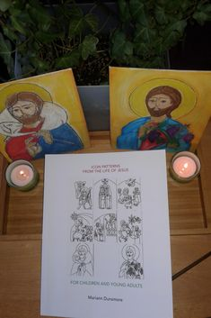 Icon Pattern book for children from the life of Jesus