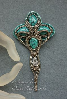 Amazing beaded accessories by Olga Shumilova | Beads Magic