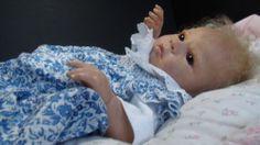 """ZUCCHEROBAMBINO"" SOFT AND CUDDLY REBORN BABY DOLL! SABRINA BY REVA SCHICK | eBay"
