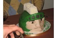 Michigan State Spartan Cake