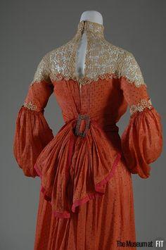 Afternoon dress, circa 1903