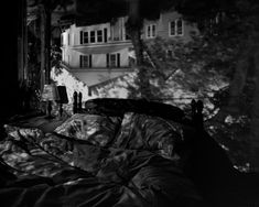 Abelardo Morell Camera Obscura Image of Houses Across the Street in Our Bedroom, 1991 Camera Obscura, Institute Of Contemporary Art, Pinhole Camera, Photography Camera, Museum Photography, Photography Tips, Experimental Photography, White Prints, Cool Landscapes