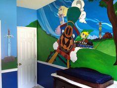 Legend of Zelda Painted Nursery
