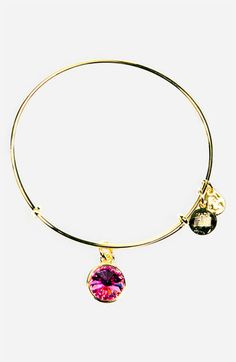 Alex and Ani Birthstone Expandable Wire Bangle available at #Nordstrom