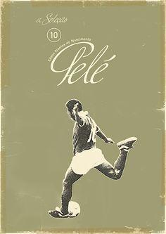 """Sucker for Soccer"" – The Greatest Football Players of all Time (24 Posters / Illustrations) > Design und so, Illustrationen, Serien, Sports > beckham, best, bomber, figo, football, kaiser, players, Ronaldinho, ronaldo, schweini, soccer"
