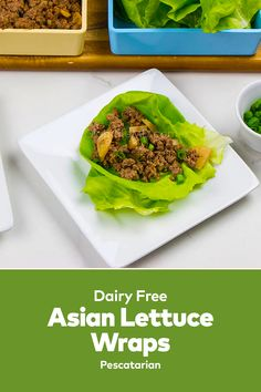 These Asian Lettuce Wraps are AMAZING! these are healthy lettuce wraps that are low carb. If you are looking for lettuce wrap ideas, visit our site for more food recipes easy lunch. Asian Lettuce Wraps, Best Lunch Recipes, Wrap Recipes, Lunches And Dinners, Dairy Free, Delish, Easy Meals, Low Carb, Healthy