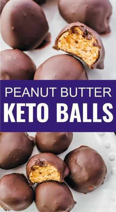 These keto peanut butter balls are a fantastic low carb treat. This is an easy no bake recipe, and makes for a delicious dessert or sweet snack. Great for holidays like Christmas. All you need are a handful of ingredients including chocolate, peanut butter, sweetener, and coconut oil. Click the pin to find the recipe, nutrition facts, cooking tips, and more photos.