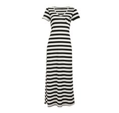 maxi tube dress  black/white  size: 32-44 Tube Dress, Dress Black, Dresses For Work, Black And White, My Style, Awesome, Fashion, Moda, Black N White
