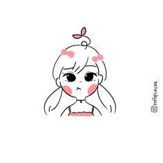 Sweet Drawings, Kawaii Drawings, Cartoon Drawings, Easy Drawings, Cute Cartoon Characters, Cartoon Art Styles, Cute Art Styles, Simple Cartoon, Cute Doodles