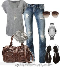 """Comfy Casual"" by uniqueimage on Polyvore"