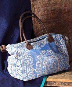 The Inez Weekender, Yoga Mat, Large Travel Bag, Carry on, Tote Handbags, Purses And Handbags, Sac Week End, Sacs Design, Carpet Bag, Boho Bags, Fabric Bags, Cute Bags, Beautiful Bags