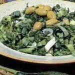 Cretan Chorta Salad – Wild Leafy Greens Recipe