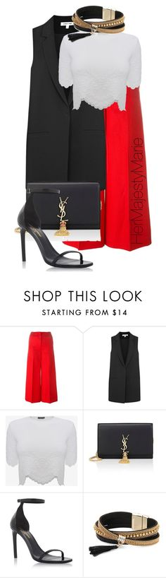 """""""Untitled #31"""" by hermajestymarie on Polyvore featuring Sonia Rykiel, Elizabeth and James, Alexander McQueen, Yves Saint Laurent and Simons"""