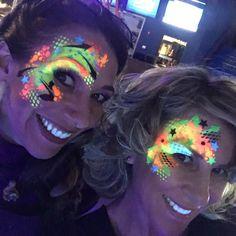Lea Selley and Margi Kanter Stencilling UV