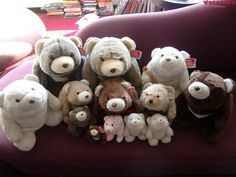 and the family kept growing... Gund Snuffles. By Noch Noch the Bearalist at Bearapy.  http://bearapy.me