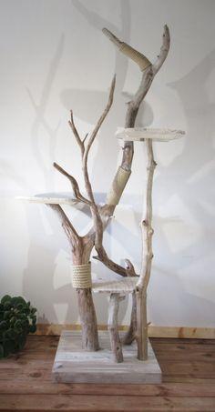 Cat Tree House, Cat House Diy, Cat Wall Shelves, Diy Cat Tree, Cat Run, Cat Towers, Cat Playground, Cat Enclosure, Outdoor Cats