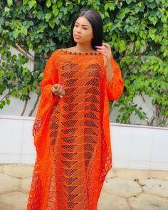 Sari, Orange, Dresses, Photos, Long Gowns, Fashion, Wedding, African Attire, Black Picture
