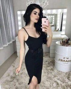 f10ca5a92b 28 melhores imagens de Vestido preto