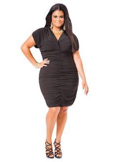 1f70746c5aa Black Cocoon Dress - Ashley Stewart Cocoon Dress