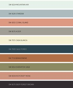 2017 color trends for the home Paint Color Schemes, Kitchen Colour Schemes, Colour Pallete, Kitchen Colors, Room Colors, Wall Colors, House Colors, Tinta Sherwin Williams, Color 2017