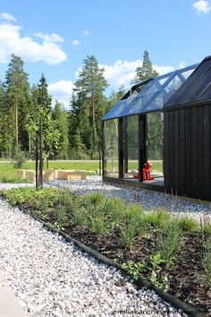 Greenhouse in Housing Fair Finland 2013