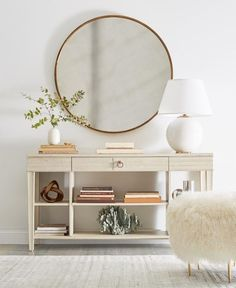 Consoles & Round Mirrors | Centsational Girl