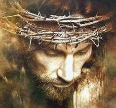 Lord Jesus son of god. Jesus Our Savior, Jesus Is Lord, Jesus Christ Crucified, Crucifixion Of Jesus, Religious Tattoos, Religious Art, Pictures Of Jesus Christ, Religion Catolica, Jesus Face