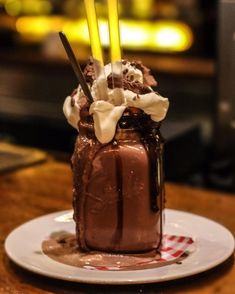 You'll love our Freakshake from Mars! #Freakshake #Freakshakes #CoventGarden by maxwellscoventgarden